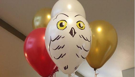 palloncini per la festa di compleanno Harry Potter