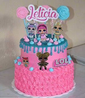 torta di compleanno LOL