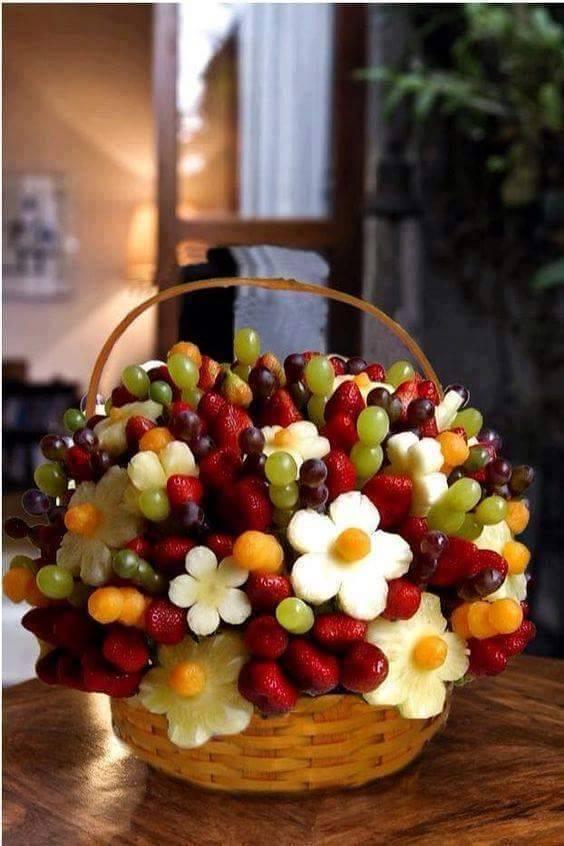 frutta per la festa di bambini
