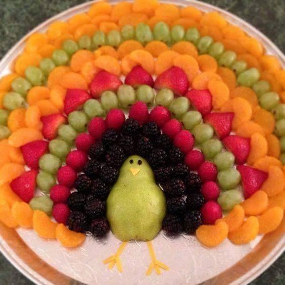 frutta per la festa di compleanno per bambini