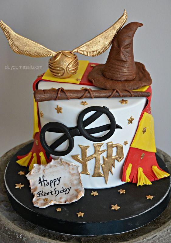 torta di compleanno Harry