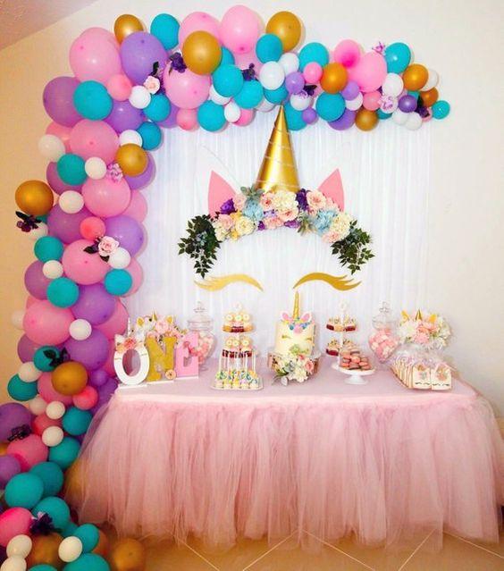 palloncini e decorazione festa di compleanno bambini