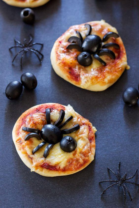 pizzetta a tema Halloween
