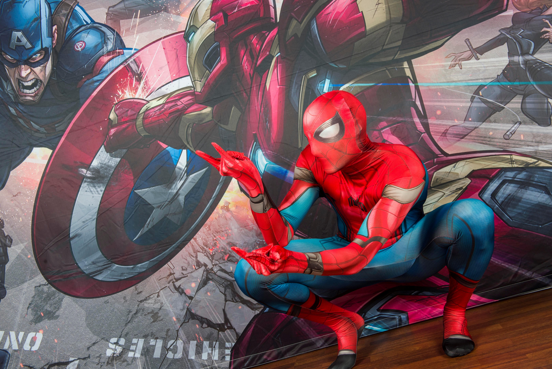 Festa di compleanno per bambini a tema spiderman