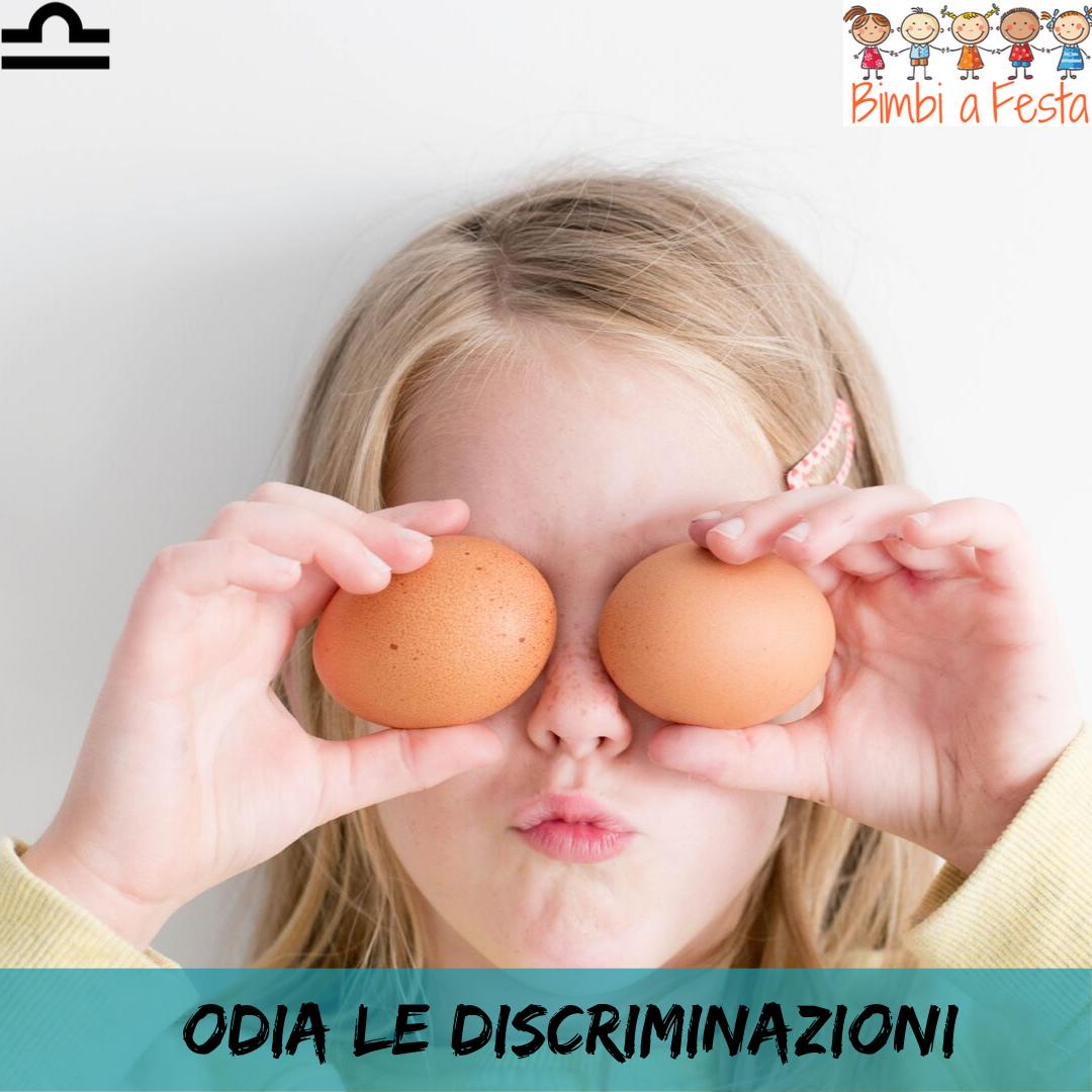 Il segno della Bilancia odia le discriminazioni