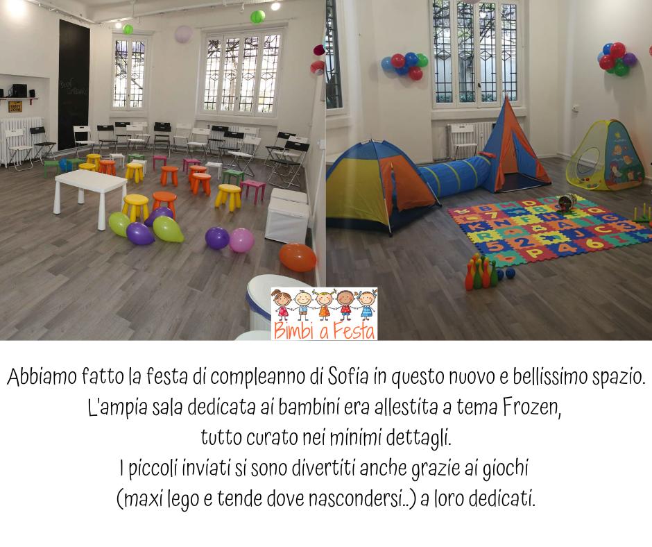 Festa di compleanno per bambini da Carta Bianca a Milano