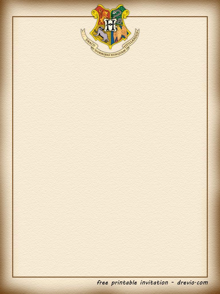 Biglietto Harry Potter scaricabile