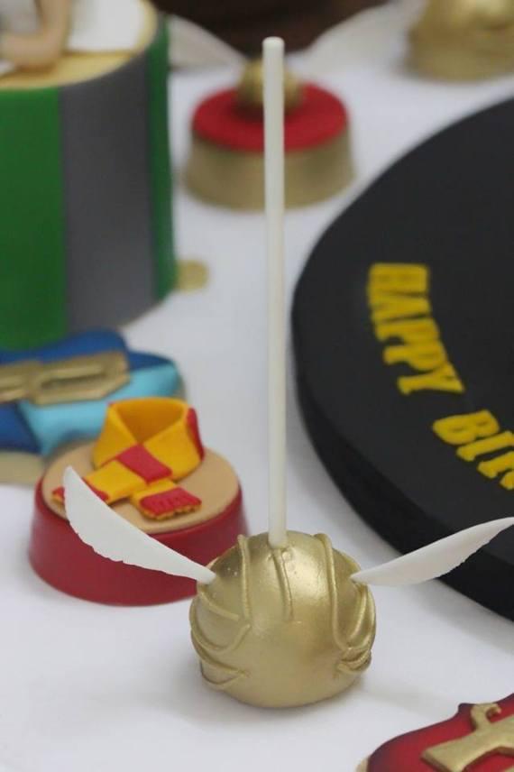 cake pop Harry Potter