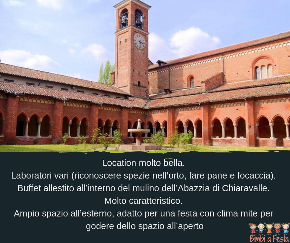 Recensione festa compleanno bambini Mulino di Chiaravalle