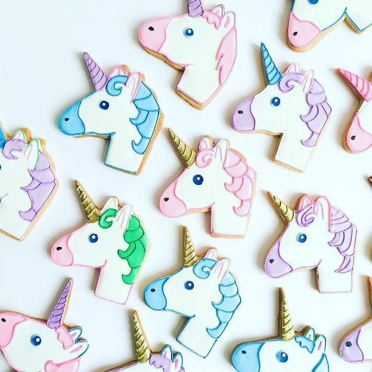 biscotto a forma di Unicorno