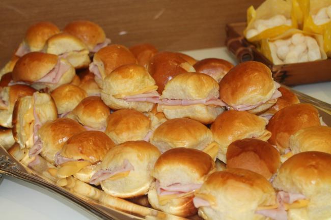 Il buffet salato per la festa di compleanno di bambini