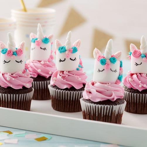 cupcake a forma di Unicorno