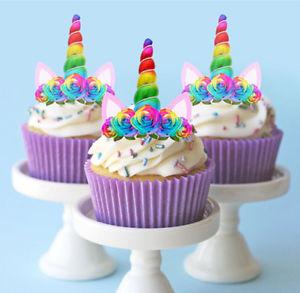 cupcake per la festa a tema Unicorno