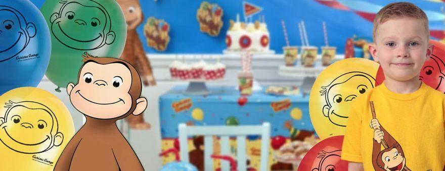 festa di compleanno bambini a tema George