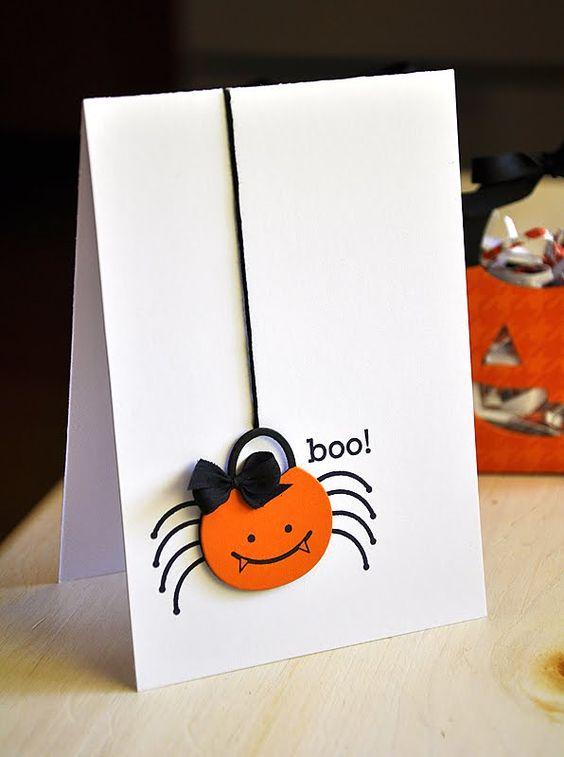 biglietto di invito festa bambini per Halloween