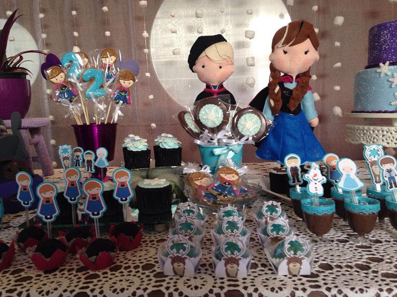 Festa di compleanno per bambine a tema Frozen