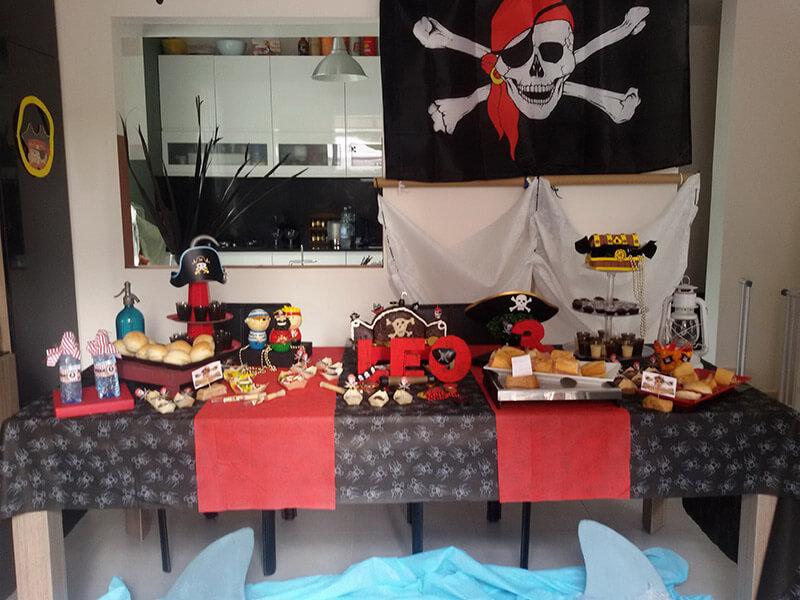 festa di compleanno a tema Pirati del Cappellaio Matto