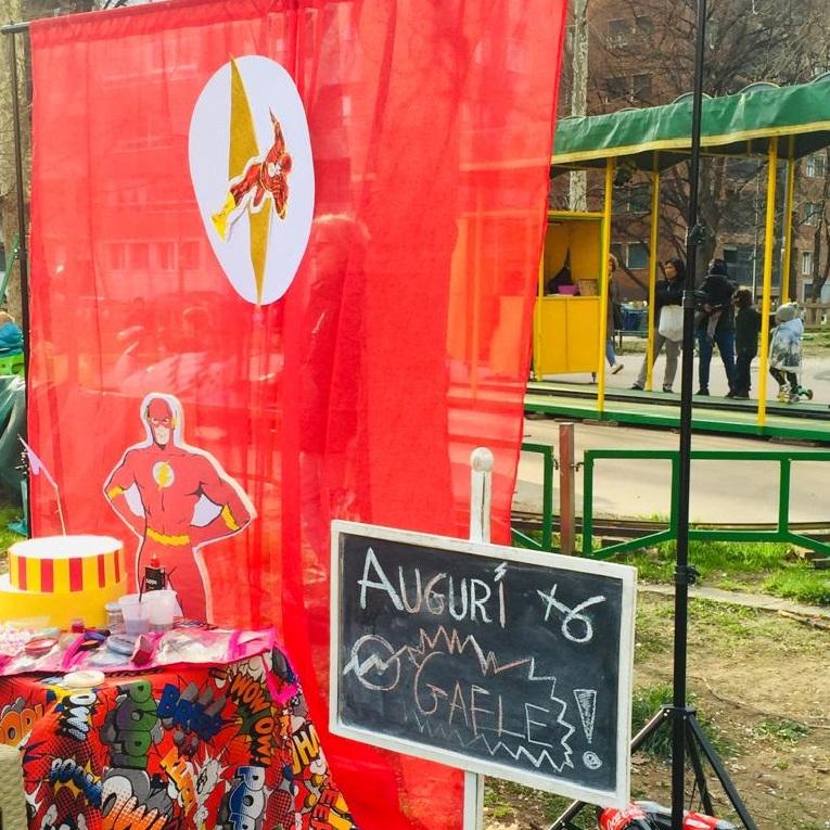 Festa di compleanno al parco organizzata da Carta Bianca Milano