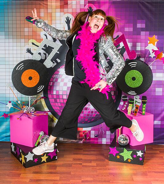 Festa di compleanno per bambini a tema musica e karaoke