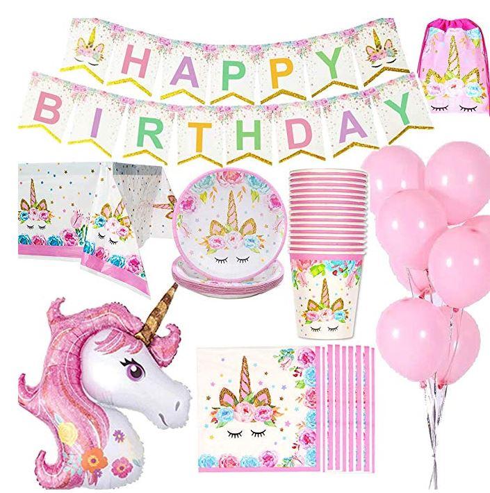 kit festa di compleanno a tema Unicorno