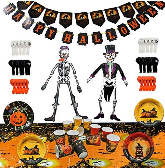 Kit per allestimento festa a tema Halloween