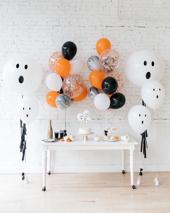 Decorazione con palloncini festa compleanno