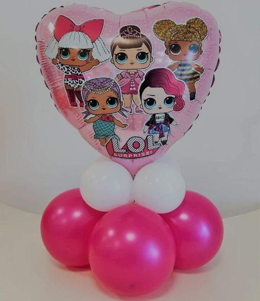 palloncino per allestimento festa compleanno a tema LOL
