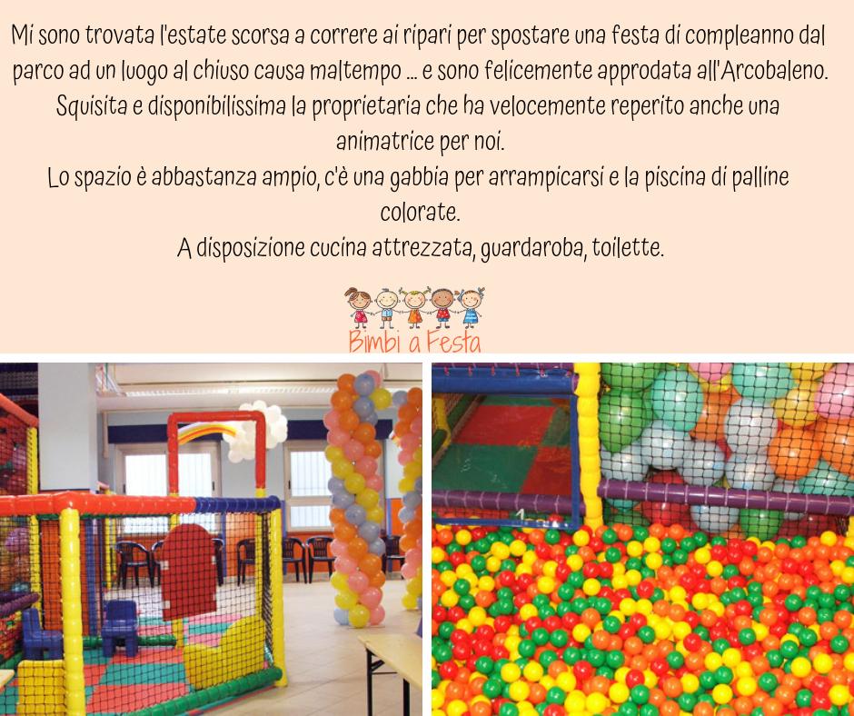 Festa compleanno bambini da Arcolabeno Milano
