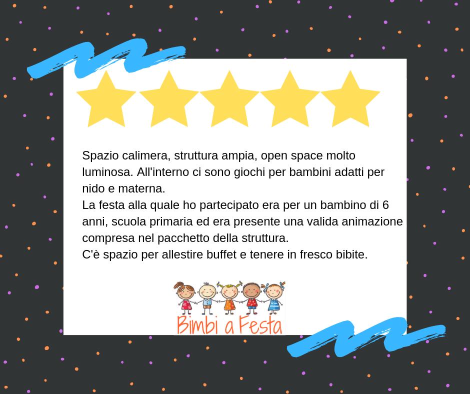 Festa di compleanno bambini da Calimera Milano