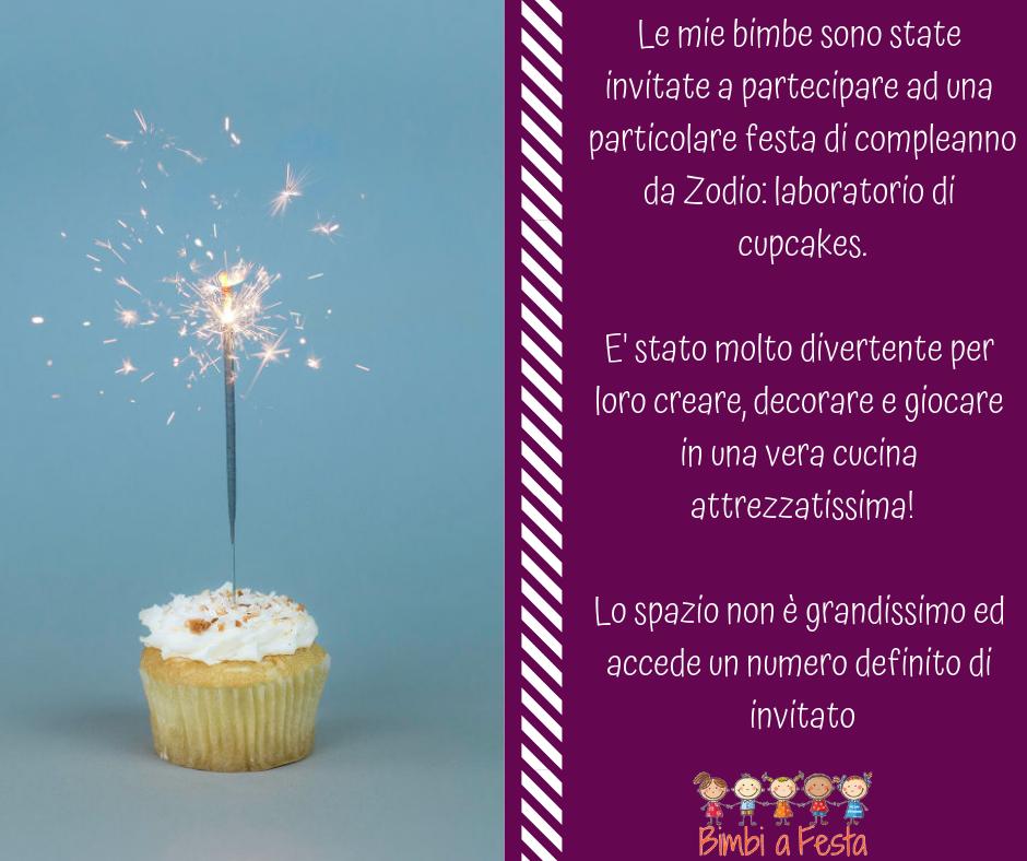 Recensione festa bambini da Zodio Milano
