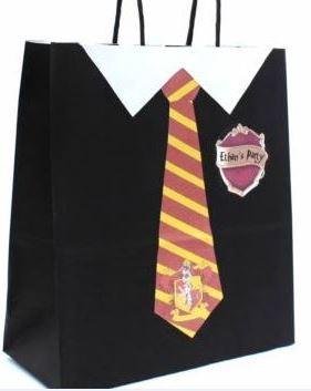 sacchetto per il regalino festa compleanno Harry Potter
