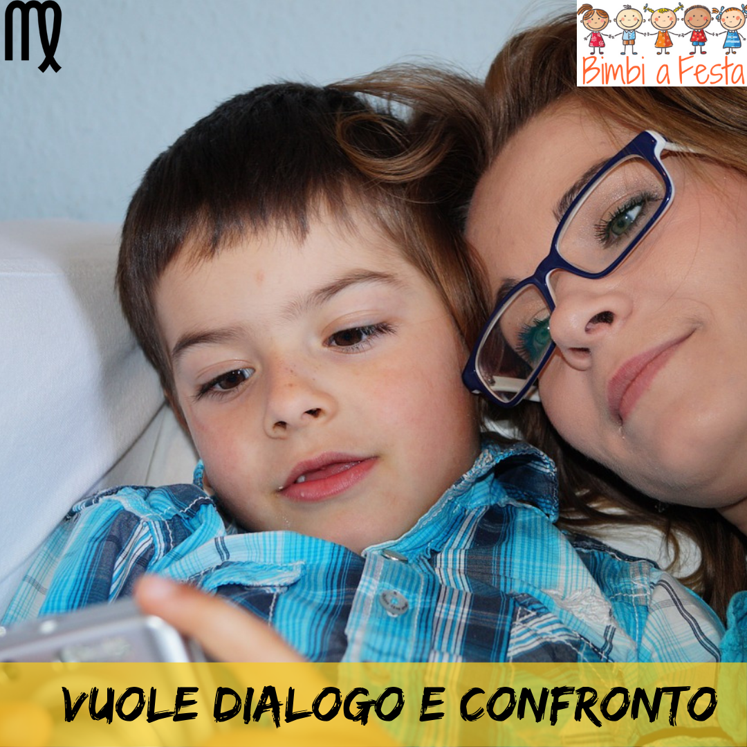 Il bambino della Vergine ricerca il dialogo e confronto