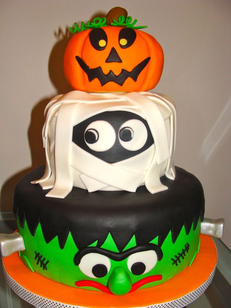 torta festa bambini a tema Halloween