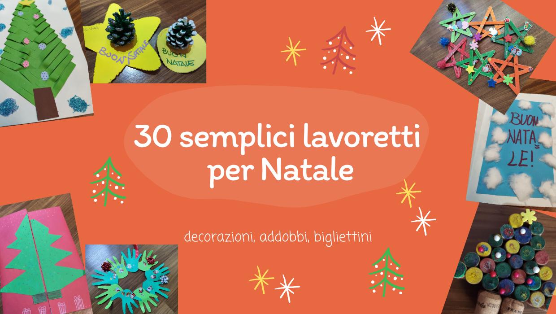 Lavoretti Di Natale Con Piatti Di Plastica.30 Semplici Lavoretti Di Natale Per Bambini Bimbi A Festa